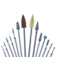 Кристалл Nails, Стартовый набор фрез для маникюра Премиум №22 (14 шт.)