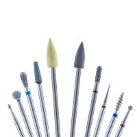 Кристалл Nails, Стартовый набор фрез для маникюра Универсальный №24 (10 шт.)