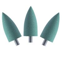 Кристалл Nails, Полир силикон-карбидный №40408, зеленый (10 шт.)