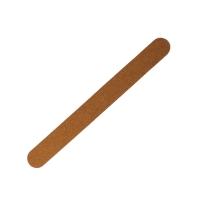 Пилка овал на деревянной основе, коричневая 180/180 грит