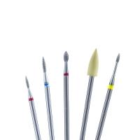 Кристалл Nails, Набор фрез для маникюра, малый №32 (5 шт.)