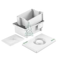 Емкость-контейнер для стерилизации ЕДПО-1-02 (1л)