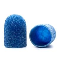 Silver Kiss, Колпачок абразивный на тканевой основе 16 мм, синий 80 грит