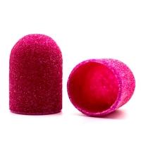 Silver Kiss, Колпачок абразивный на тканевой основе 16 мм, розовый 120 грит