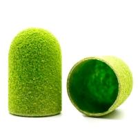 Silver Kiss, Колпачок абразивный на тканевой основе 16 мм, зеленый 150 грит