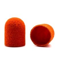 Silver Kiss, Колпачок абразивный на тканевой основе 10 мм, оранжевый 240 грит