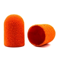 Silver Kiss, Колпачок абразивный на тканевой основе 13 мм, оранжевый 240 грит