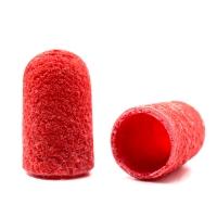 Silver Kiss, Колпачок абразивный на тканевой основе 5 мм, красный 320 грит
