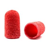 Silver Kiss, Колпачок абразивный на тканевой основе 7 мм, красный 320 грит