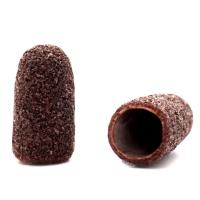 Silver Kiss, Колпачок абразивный на тканевой основе 5 мм, коричневый 80 грит