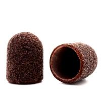 Silver Kiss, Колпачок абразивный на тканевой основе 10 мм, коричневый 80 грит