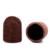 Silver Kiss, Колпачок абразивный на тканевой основе 10 мм, коричневый 320 грит