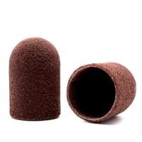 Silver Kiss, Колпачок абразивный на тканевой основе 16 мм, коричневый 240 грит